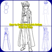 Drawing Guide for Sword Art Online Characters