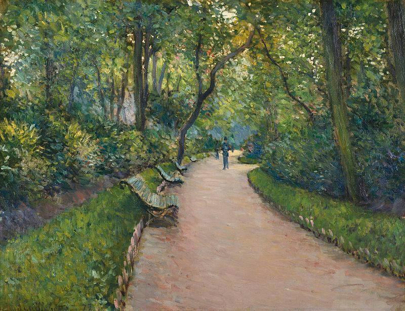 G. Caillebotte, The Park Monceau, 1877 [ttps://lh3.googleusercontent.com]