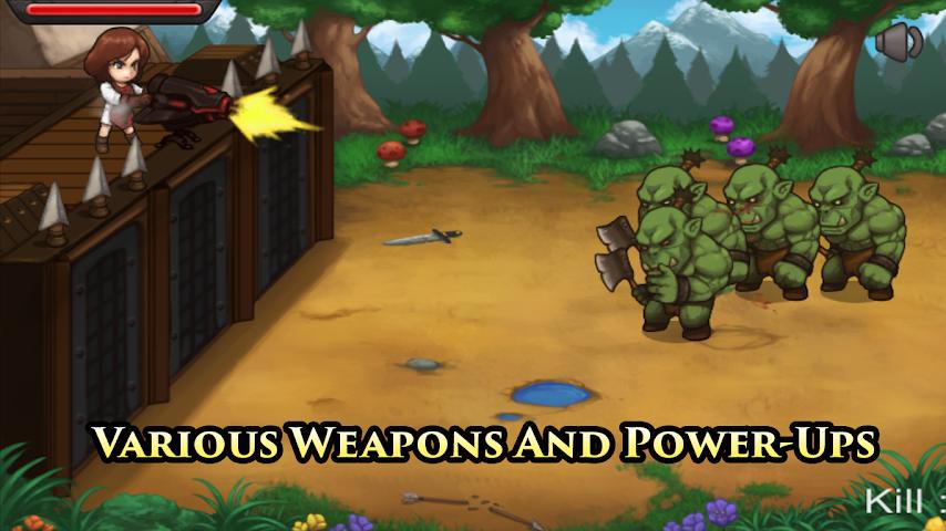 android Castle Hero Defense Pro Screenshot 1