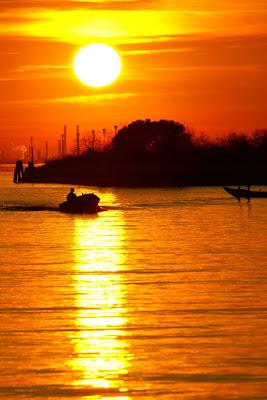 Orange Venice Sunset di Fairy