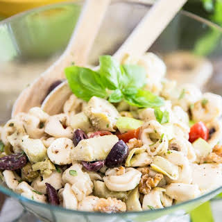 Mediterranean Tortellini Salad.
