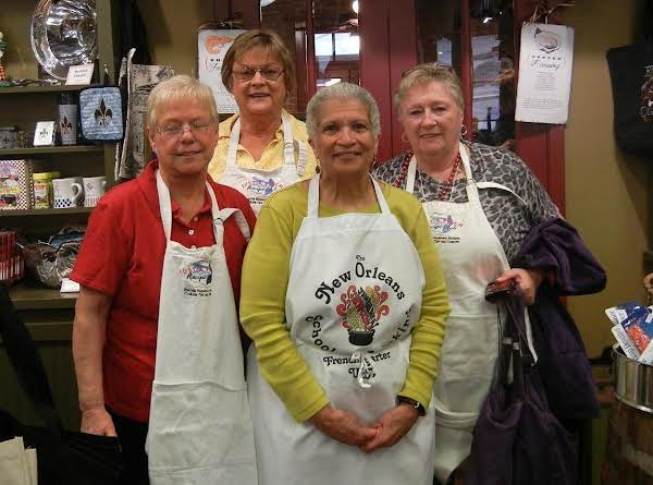 Spring Fling 2013 New Orleans, La With Connie, Jane And Thea..also The Chef At The Cooking Class They Took.