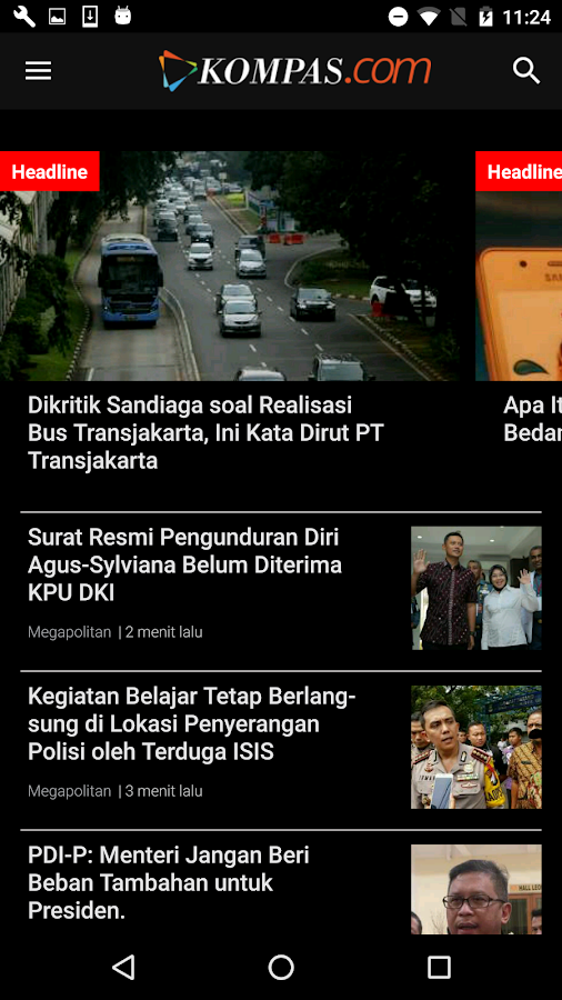 Kompascom- screenshot