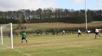 Photo: 28/03/09 v Hall Road Rangers (NCELP) 3-1 - contributed by Martin Wray