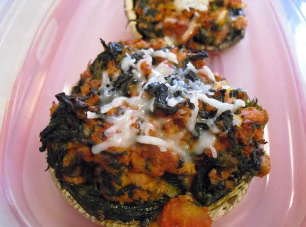 Hearty Stuffed Mushrooms Recipe
