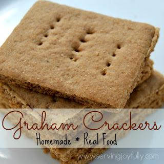Homemade, Real Food Graham Crackers.