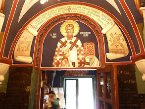 Photo: Eastern Orthodox cathedrals have an iconostasis, mosaics, and frescoes.