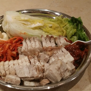 보쌈 (Bossam) - Steamed Pork Belly