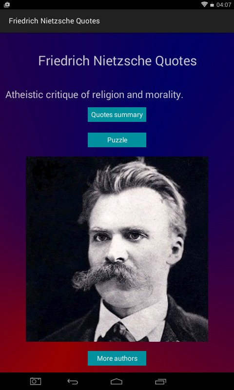 friedrich nietzsche quotes android apps on google play