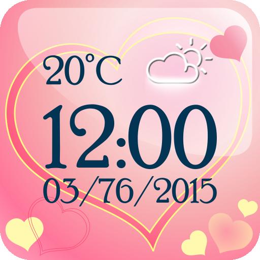 愛 天气 時鐘 小工具 個人化 App LOGO-APP試玩