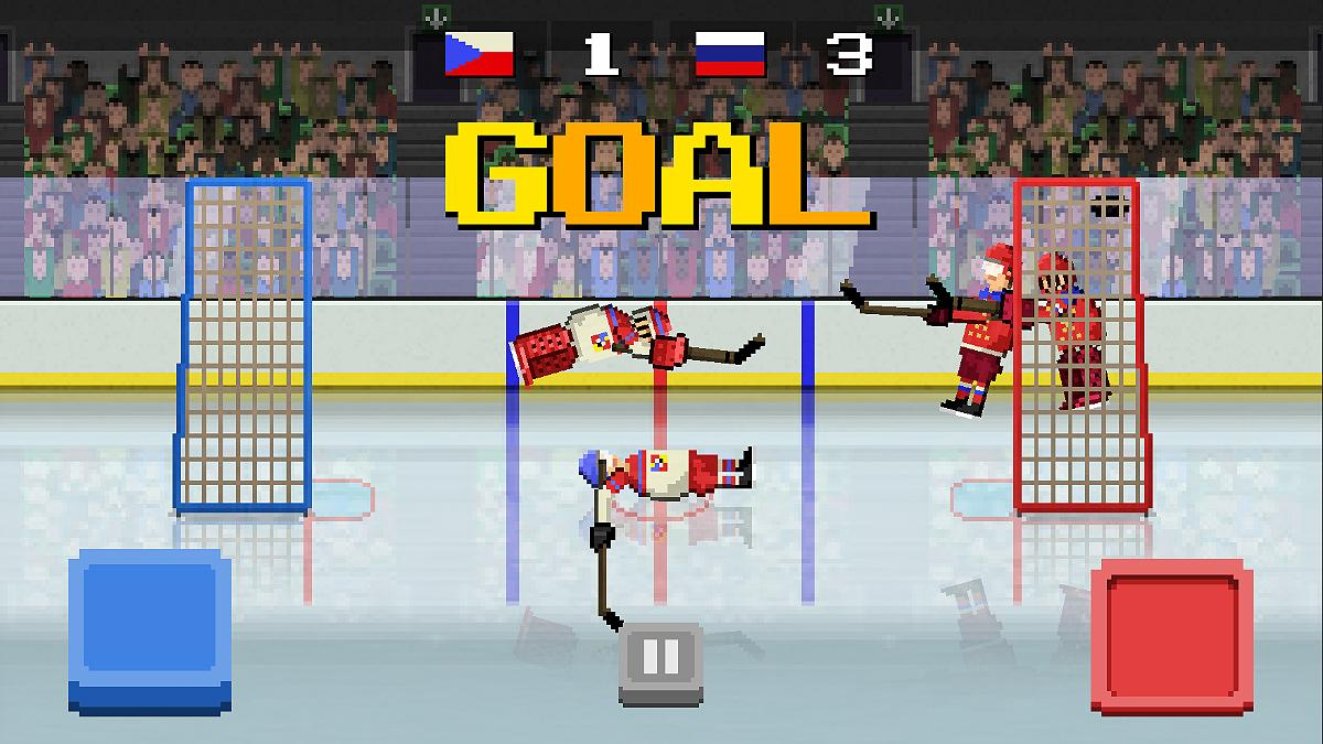 Hockey Hysteria- screenshot