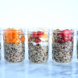 Breakfast Quinoa Jars.