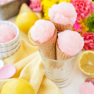 Pink Lemonade Sorbet.