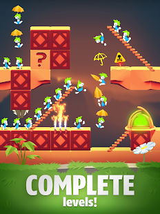 Lemmings - Puzzle Adventure Screenshot