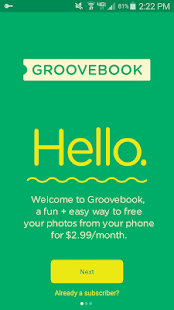 Groovebook Photo Books & Gifts- screenshot thumbnail