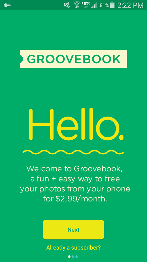 Groovebook Photo Books & Gifts- screenshot