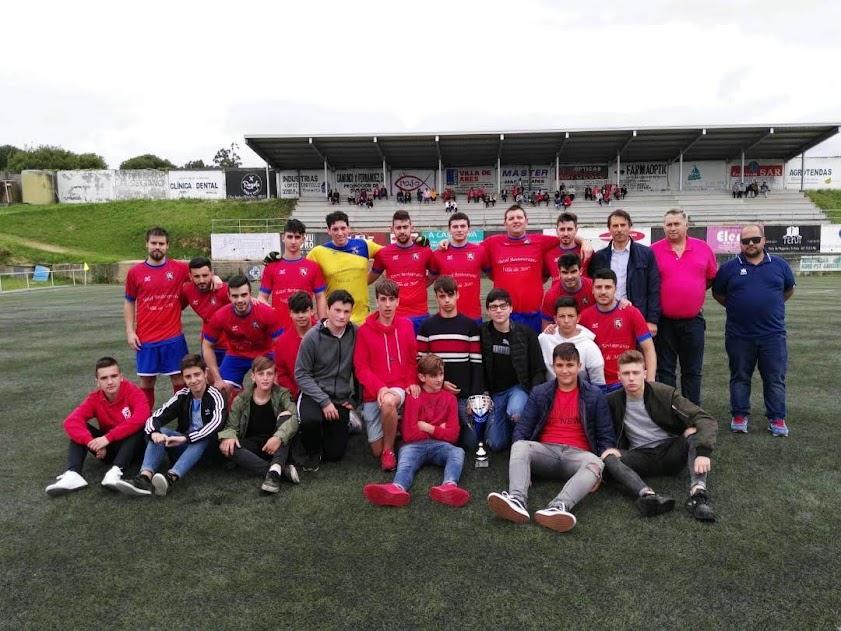 ADR Numancia de Ares. Aficionados y Cadetes 2017-2018. Cuartos de Final de Copa de Aficionados. Numancia, 1 - Eume, 0. Prados Vellos.