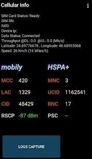 Cellular Info - náhled