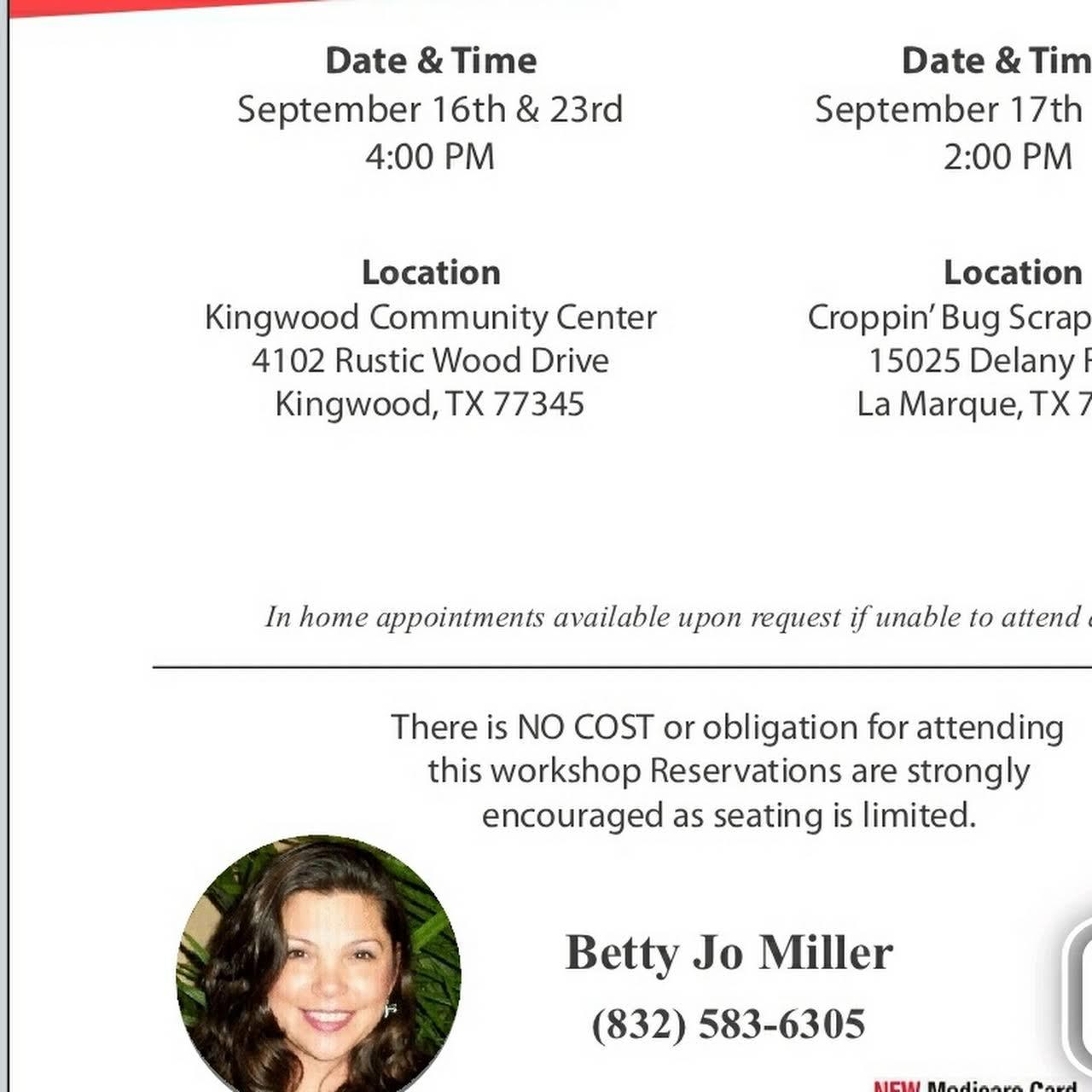 Betty Jo Miller - Health Insurance Agency