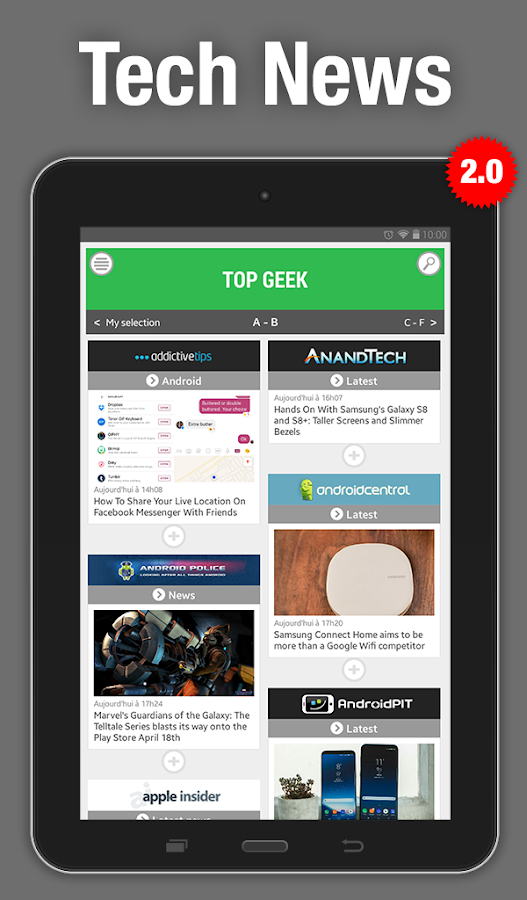 Top Geek - Tech News- screenshot