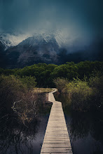 Photo: Path in Glenorchy  Last night we took a very nice walk along this lovely path... We were on areconnoissance mission, preparing for the big event that starts tonight! http://www.stuckincustoms.com/new-zealand-photo-adventure/  We're all currently here in the house preparing for about 25 people to come over to begin the festivities. +Karen Hutton is in here with her Vitamix she brought from the US making crazy vegetable smoothies for everyone. +Scott Kublinis busy processing photos. +Curtis Simmonsis running around making finalpreparationsfor the party tonight... it will be great fun! :)