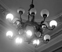 Photo: Deco style -- a few bulbs out!