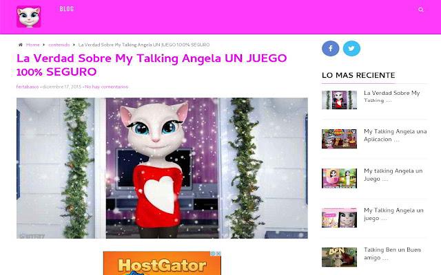 Mi Talking Angela chrome extension