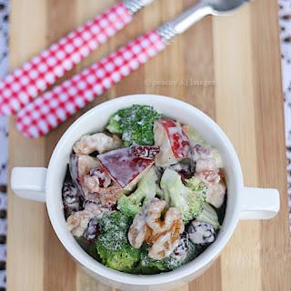 Broccoli and Apple Salad