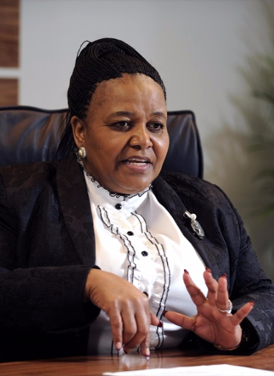 Edna Molewa. Picture: FINANCIAL MAIL