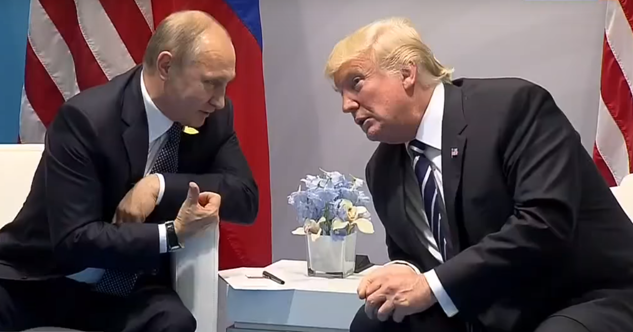 Trump extends olive branch to Putin of Russia