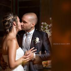 Wedding photographer Eduardo de Vincenzi (devincenzi). Photo of 01.10.2015