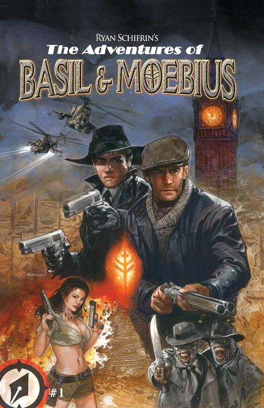 The Adventures of Basil & Moebius (2015) - complete