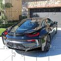 Jigsaw Puzzles BMW i8 Spyder 🧩🚗🧩🏎️🧩 icon
