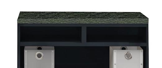 Photo: EZSC30-FPP shown on open storage cabinet