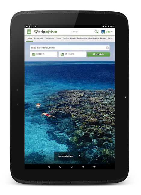 #9. TripAdvisor Hotels Restaurants (Android)
