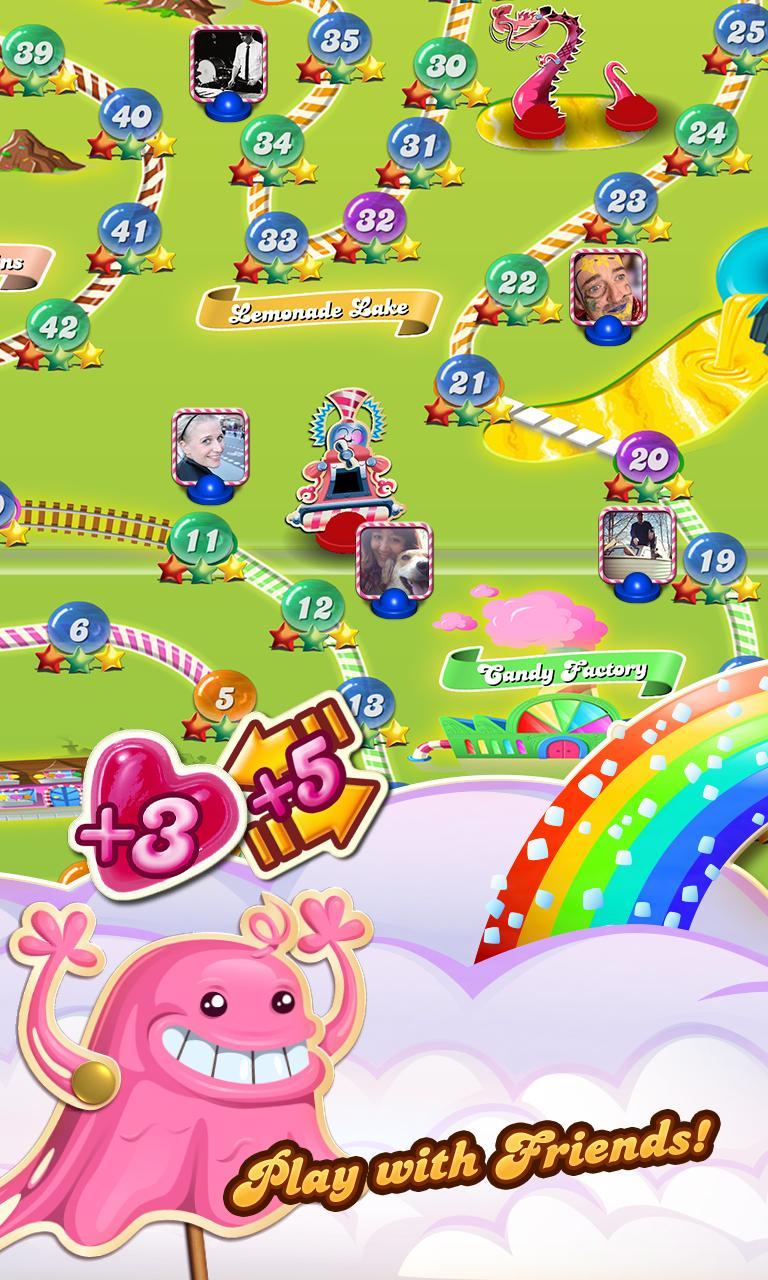 Candy Crush Saga screenshot #4