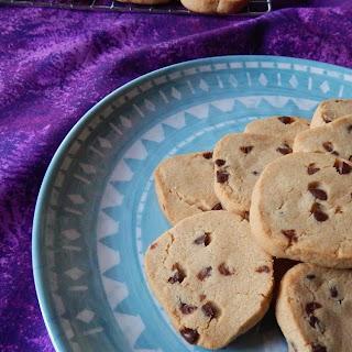 Peanut Butter & Chocolate Shortbread