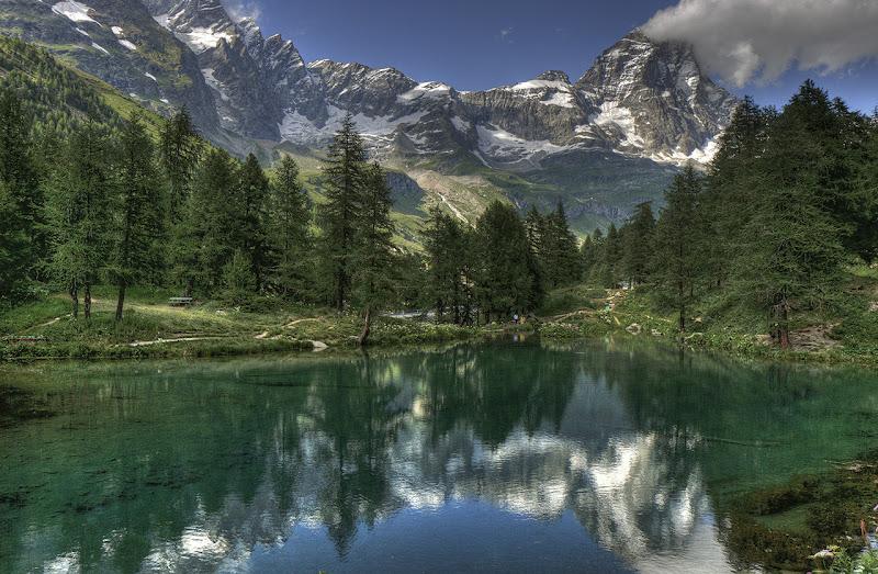 Il Cervino e il lago Blu di angelo27