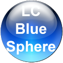 LC Blue Sphere Nova/Go Theme icon