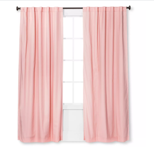 Twill Blackout Curtain Panel - Pillowfort