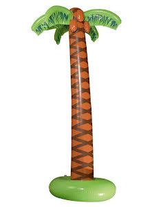 Stor uppblåsbar palm