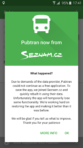 Pubtran 5.15.5 screenshots 1