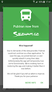 Pubtran- screenshot thumbnail