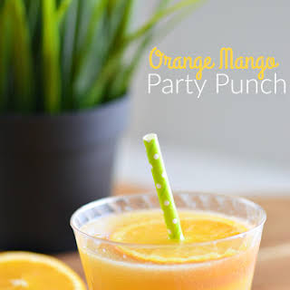 Orange Mango Party Punch.