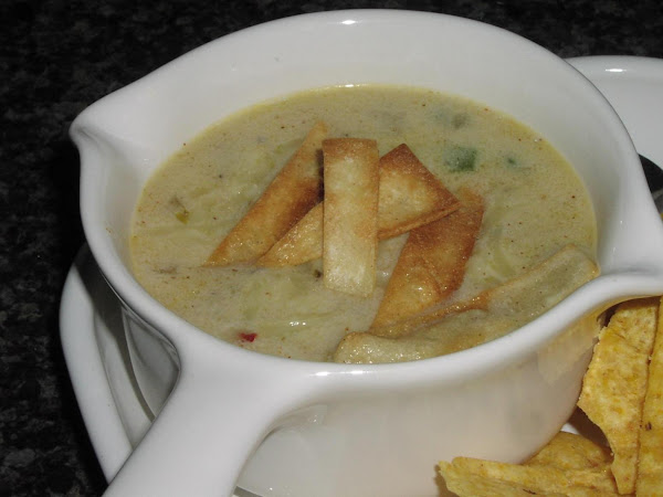 Cream Of Poblano Soup Recipe