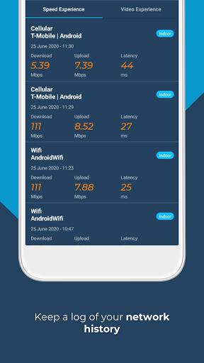 Opensignal - 3G & 4G Signal & WiFi Speed Test screenshot 8