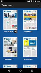 Trouw digitale krant screenshot 5