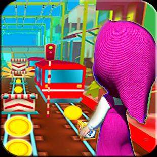 Subway Masha Jump Adventure - náhled