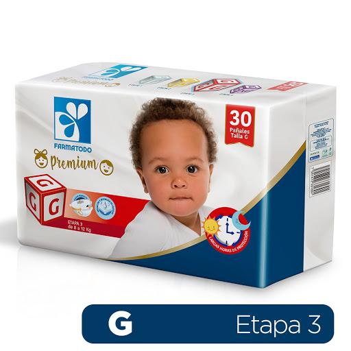 pañal desechable farmatodo g 30und