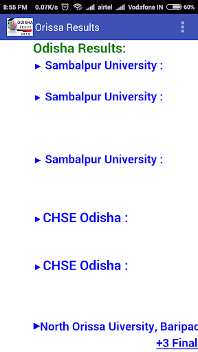Odisha Result and Career - Apps on Google Play